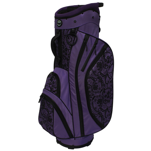 3.5 Ladies Cart Bag Lace Purple/Black