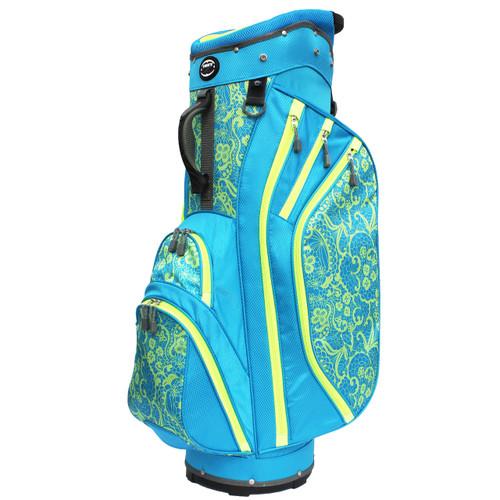 3.5 Ladies Cart Bag Lace Blue/Lime