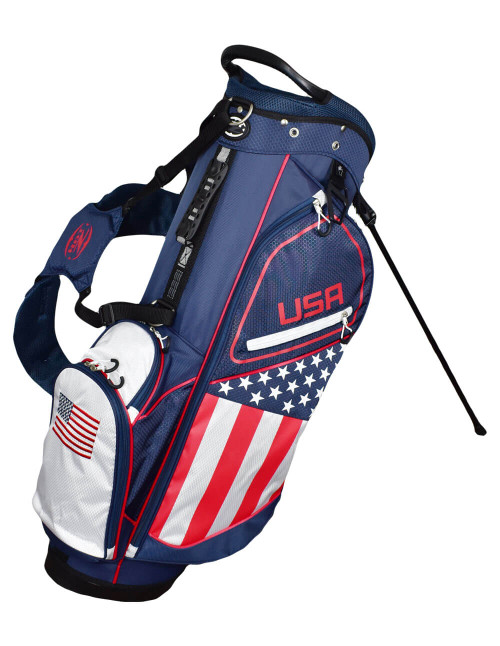 USA Flag Stand Bag