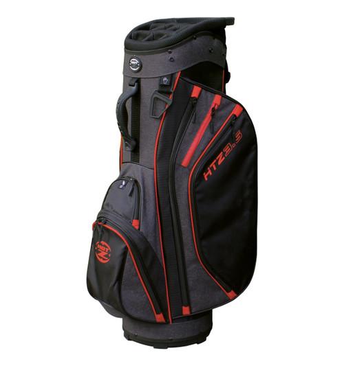 3.5 Designer Cart Bag Red/Black