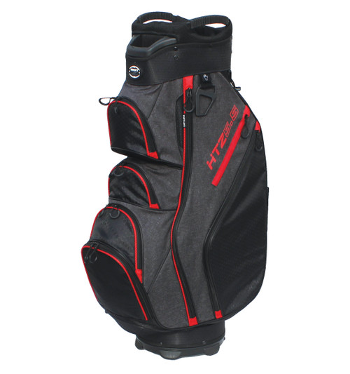 5.5 Designer Cart Bag Red/Black