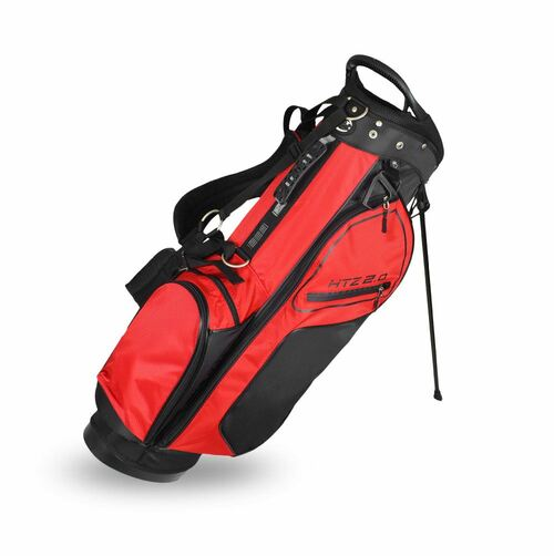 2.0 Stand Bag Black/Red