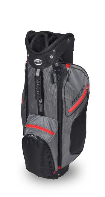 2.5 Cart Bag Black/Gray/Red