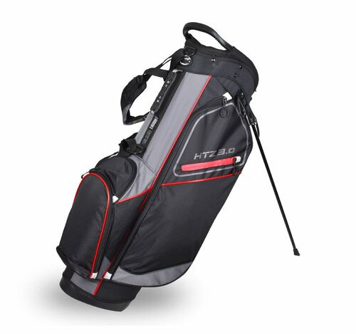 3.0 Stand Bag Black/Gray/Red