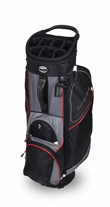 3.5 Cart Bag Black/Gray/Red