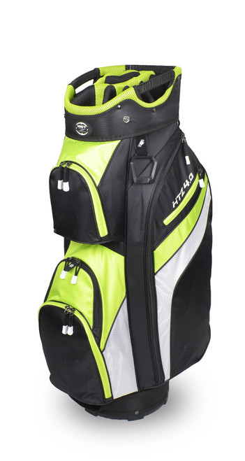 4.0 Cart Bag Black/Lime/White