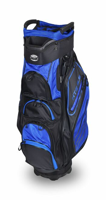 5.5 Cart Bag Black/Blue