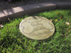 """Personalized Engraved Pet Memorial  Stone 11"""" Diameter 'Our Happiest Hello"""
