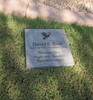 """Personalized Engraved Memorial Garden Stone 12""""x12"""" Never more than a thought away. Loved and Remembered everyday."""
