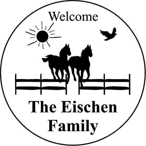 "Copy of Family Memories Step Stone 13.5"" Diameter 'Home Sweet Home'	Eischen"