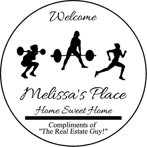 """Family Memories Step Stone 13.5"""" Diameter 'Home Sweet Home' Melissa's Place"""