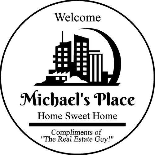 """Family Memories Step Stone 13.5"""" Diameter 'Home Sweet Home' Michael's Place"""