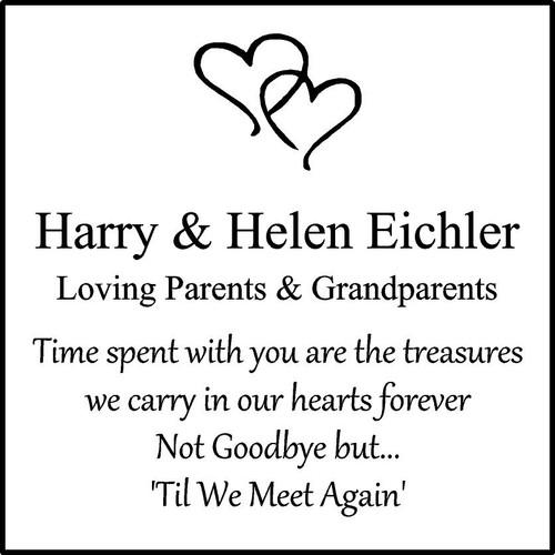 """Memories Step Stone 11.5""""x11.5"""" Harry  Helen Eichler"""