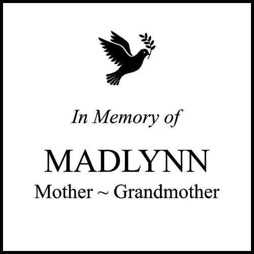 "Memories Step Stone 11.5""x11.5"" Maddlyn"