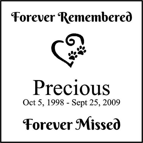 "Memories Step Stone 11.5""x11.5"" Precious"