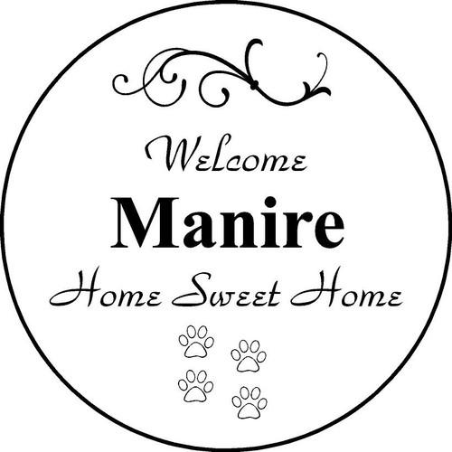 "Family Memories Step Stone 11"" Diameter 'Home Sweet HomeFSS112_HSH_Manire"
