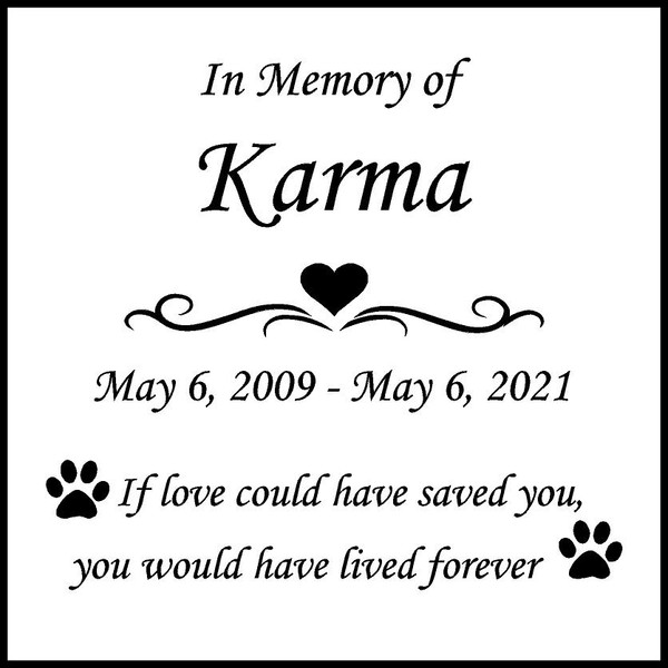 "Memories Step Stone 11.5""x11.5"" Karma"