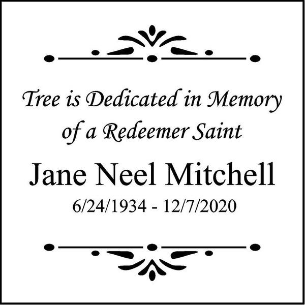 """Memories Step Stone 11.5""""x11.5"""" Jane Neel Mitchell_custom"""