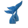 Hamptons Beach House Home Decor Seaside whale tail set of two Wood carved table decor Large size 32 x 25 x 7,   Medium size 27 x 22 x 6 Please note sets are all hand made and size can vary slightly.