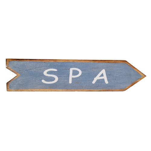 Spa  Arrow sign