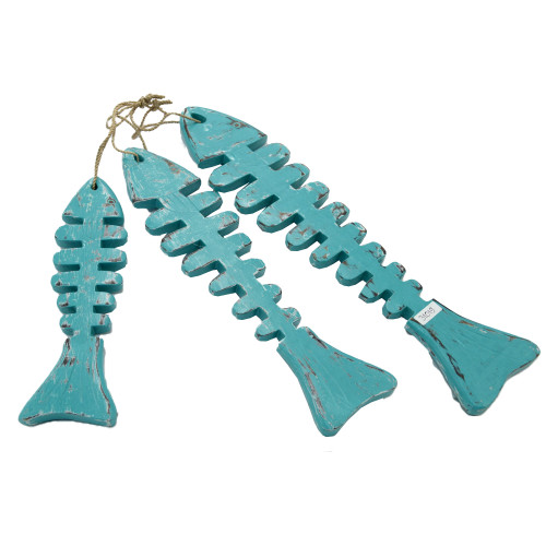 Coastal Style Wall Art Home Decoration Wall Hanging Fish set of two