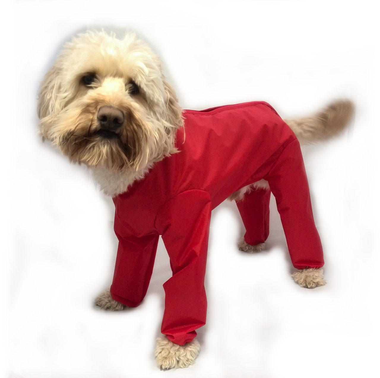 Trouser Suit Waterproof Dog Coat With Legs