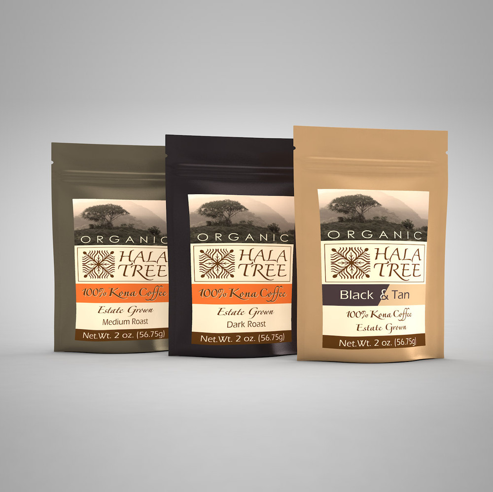 Kona coffee sampler pack