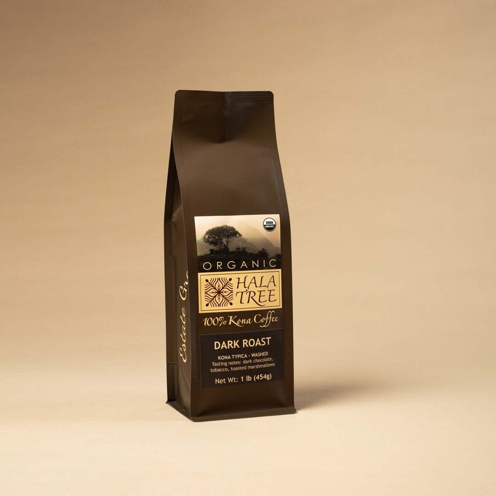 Dark Roast Organic 100% Kona Coffee