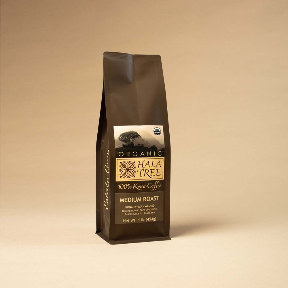 Medium Roast Organic 100% Kona Coffee