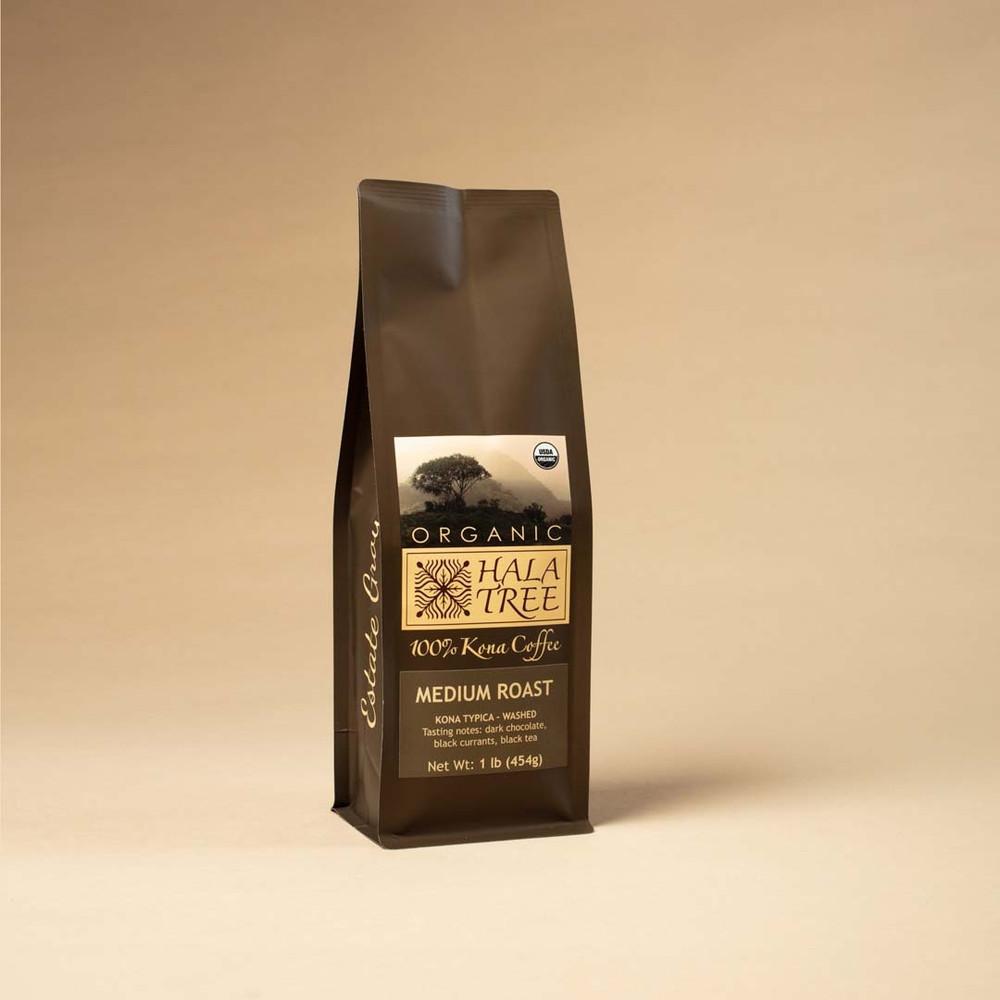 Medium Roast Organic 100% Kona Coffee