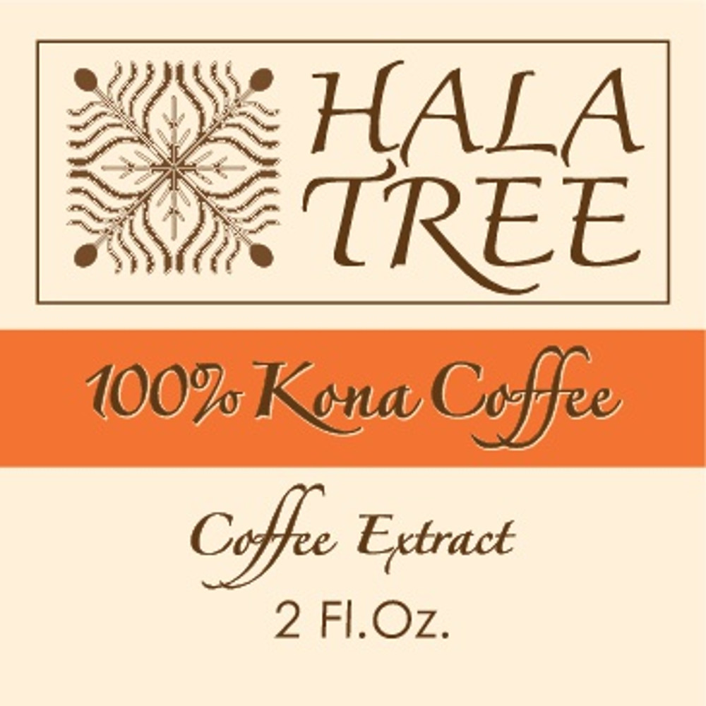 Kona coffee concentrate