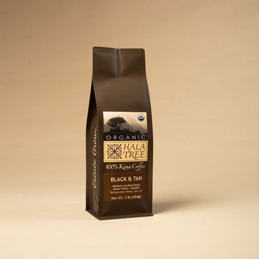 Mix Dark Roast/Medium Roast Organic 100% Kona Coffee