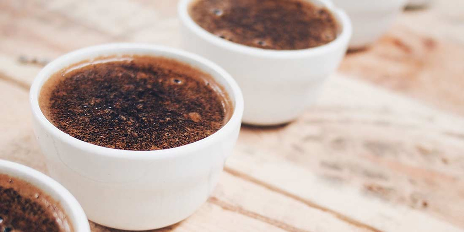 Cupping Coffee at Home