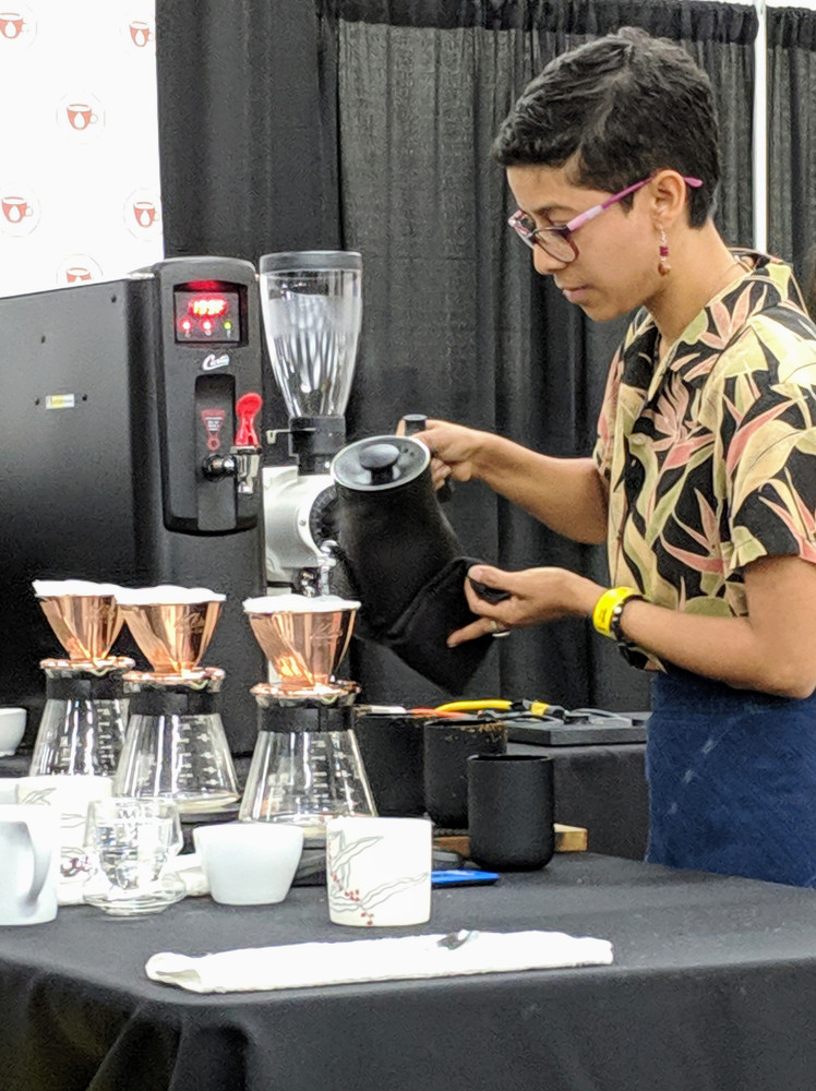 Hala Tree Coffee Brewing Competition