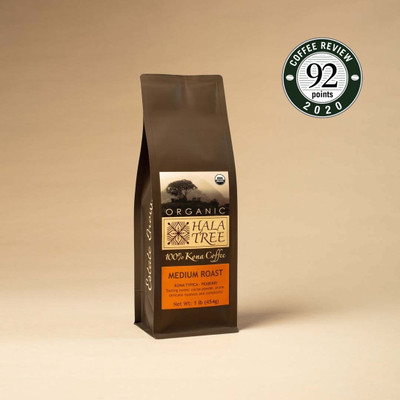 Peaberry Organic 100% Kona Coffee