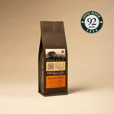 Peaberry Organic 100% Kona Coffee
