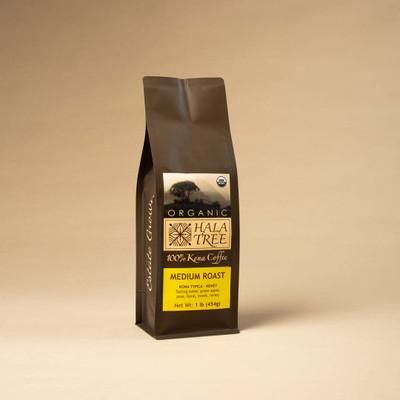 Organic Kona Coffee: Honey Medium
