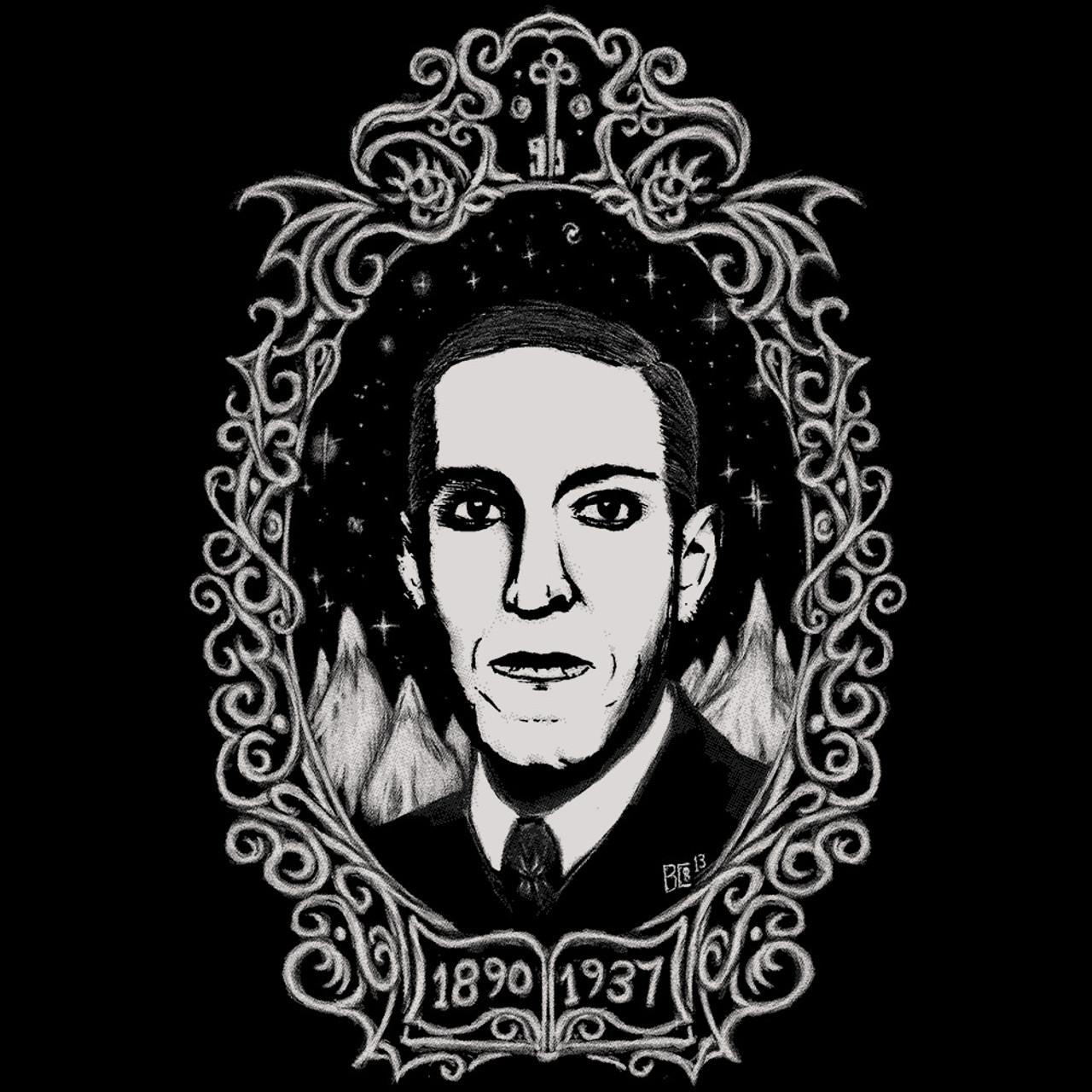 H P  Lovecraft Oval Portrait shirt