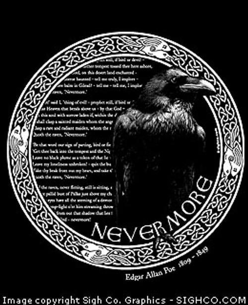 3723e44664174a Edgar Allan Poe - Nevermore shirt - Arkham Bazaar