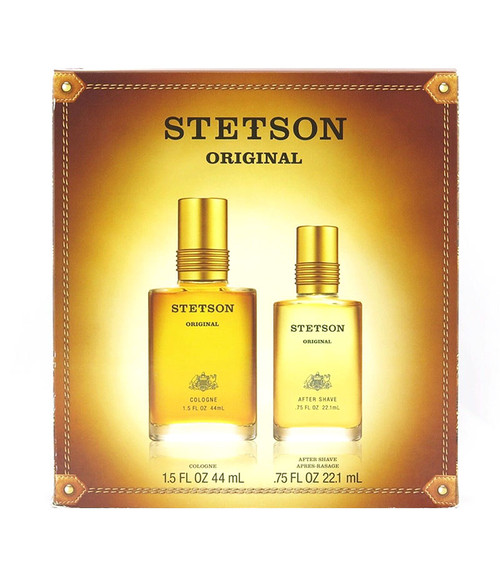 Stetson by Coty Cologne and After Shave Gift Set