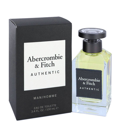 Abercrombie & Fitch Authentic Eau De Toilette Spray 3.4 oz