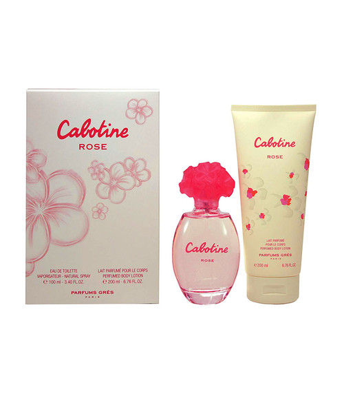 Parfums Gres Cabotine Rose Eau De Toilette & Lotion Gift Set