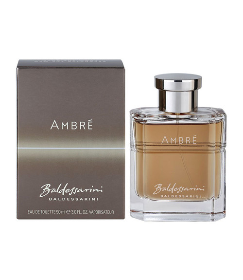 Baldessarini Ambre by Hugo Boss Eau De Toilette Spray 3 oz with box