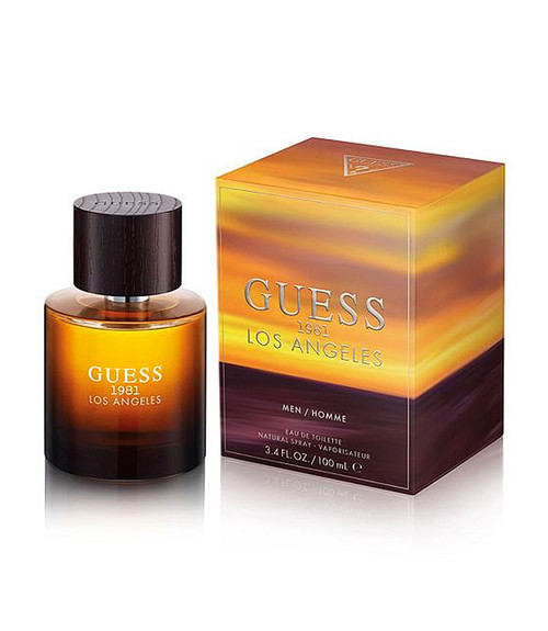Guess 1981 Los Angeles Eau De Toilette Spray 3.4 oz for Men