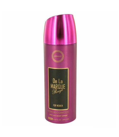 Armaf De La Marque Rouge Body Spray 6.7 oz Alcohol Free