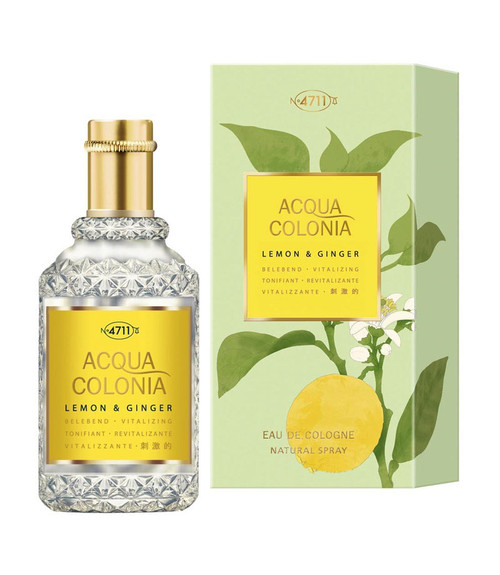 4711 Acqua Colonia Lemon & Ginger Eau De Cologne Spray 5.7 oz Unisex