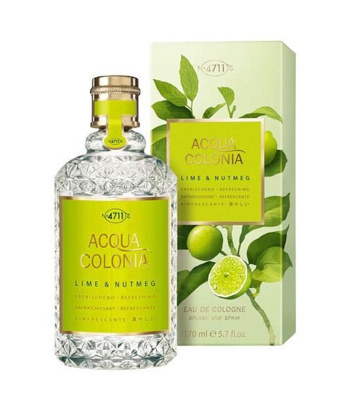 4711 Acqua Colonia Lime & Nutmeg Eau De Cologne Spray 5.7 oz