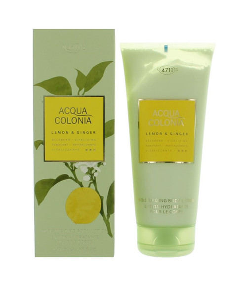 4711 Acqua Colonia Lemon & Ginger Body Lotion 6.8 oz