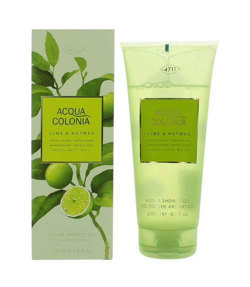 4711 Acqua Colonia Lime & Nutmeg Shower Gel 6.8 oz