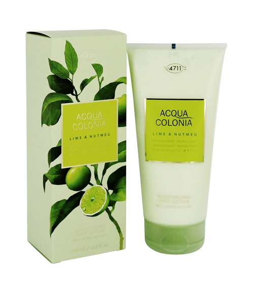 4711 Acqua Colonia Lime & Nutmeg Body Lotion 6.8 oz